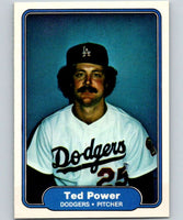 1982 Fleer #17 Ted Power RC Rookie Dodgers