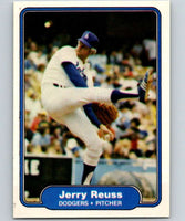 1982 Fleer #18 Jerry Reuss Dodgers UER