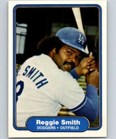 1982 Fleer #23 Reggie Smith Dodgers