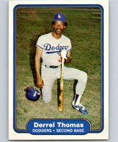 1982 Fleer #26 Derrel Thomas Dodgers