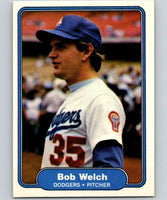 1982 Fleer #28 Bob Welch Dodgers
