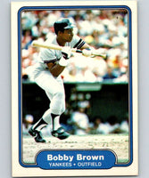 1982 Fleer #30 Bobby Brown Yankees