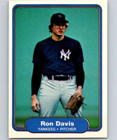 1982 Fleer #32 Ron Davis Yankees