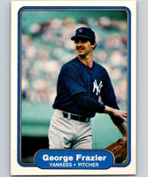 1982 Fleer #35 George Frazier Yankees