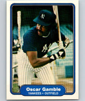 1982 Fleer #36 Oscar Gamble Yankees