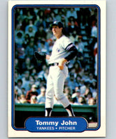 1982 Fleer #40 Tommy John Yankees