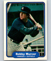 1982 Fleer #44 Bobby Murcer Yankees