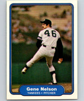 1982 Fleer #45 Gene Nelson RC Rookie Yankees