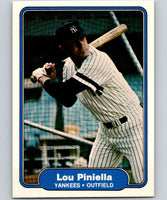 1982 Fleer #48 Lou Piniella Yankees