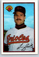 1989 Bowman #16 Larry Sheets Orioles MLB Baseball