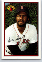 1989 Bowman #19 Lee Smith Red Sox MLB Baseball