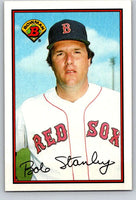 1989 Bowman #25 Bob Stanley Red Sox MLB Baseball
