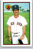 1989 Bowman #29 Luis Rivera Red Sox MLB Baseball