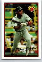 1989 Bowman #36 Ellis Burks Red Sox MLB Baseball