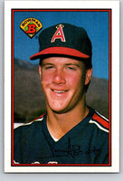 1989 Bowman #39 Jim Abbott RC Rookie Angels MLB Baseball