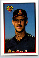 1989 Bowman #42 Mike Witt Angels MLB Baseball