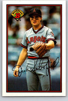1989 Bowman #46 Dick Schofield Angels MLB Baseball