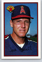 1989 Bowman #48 Jack Howell Angels MLB Baseball