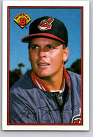 1989 Bowman #76 Greg Swindell Indians MLB Baseball