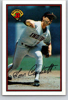 1989 Bowman #80 Tom Candiotti Indians MLB Baseball