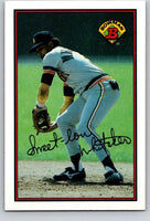 1989 Bowman #103 Lou Whitaker Tigers MLB Baseball