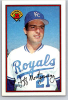 1989 Bowman #113 Jeff Montgomery Royals MLB Baseball