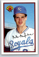1989 Bowman #118 Mike Macfarlane RC Rookie Royals MLB Baseball