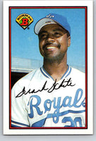 1989 Bowman #122 Frank White Royals MLB Baseball