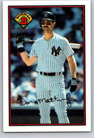 1989 Bowman #176 Don Mattingly Yankees MLB Baseball