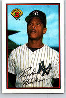 1989 Bowman #181 Rickey Henderson Yankees MLB Baseball