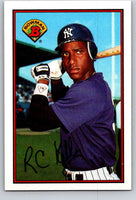 1989 Bowman #183 Roberto Kelly Yankees MLB Baseball
