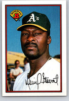 1989 Bowman #188 Dave Stewart Athletics MLB Baseball