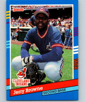 1991 Donruss #162 Jerry Browne Indians UER MLB Baseball