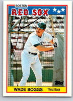 1988 Topps UK Minis #4 Wade Boggs Red Sox MLB Baseball