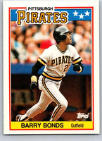 1988 Topps UK Minis #5 Barry Bonds Pirates MLB Baseball