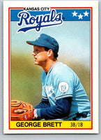 1988 Topps UK Minis #7 George Brett Royals MLB Baseball