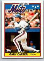 1988 Topps UK Minis #11 Gary Carter Mets MLB Baseball