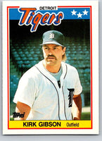 1988 Topps UK Minis #26 Kirk Gibson Tigers MLB Baseball