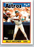 1988 Topps UK Minis #30 Billy Hatcher Astros MLB Baseball