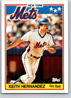 1988 Topps UK Minis #33 Keith Hernandez Mets MLB Baseball