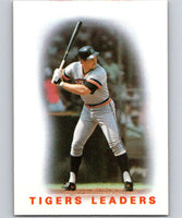 1986 Topps #36 Tigers Leaders Tigers MLB Baseball
