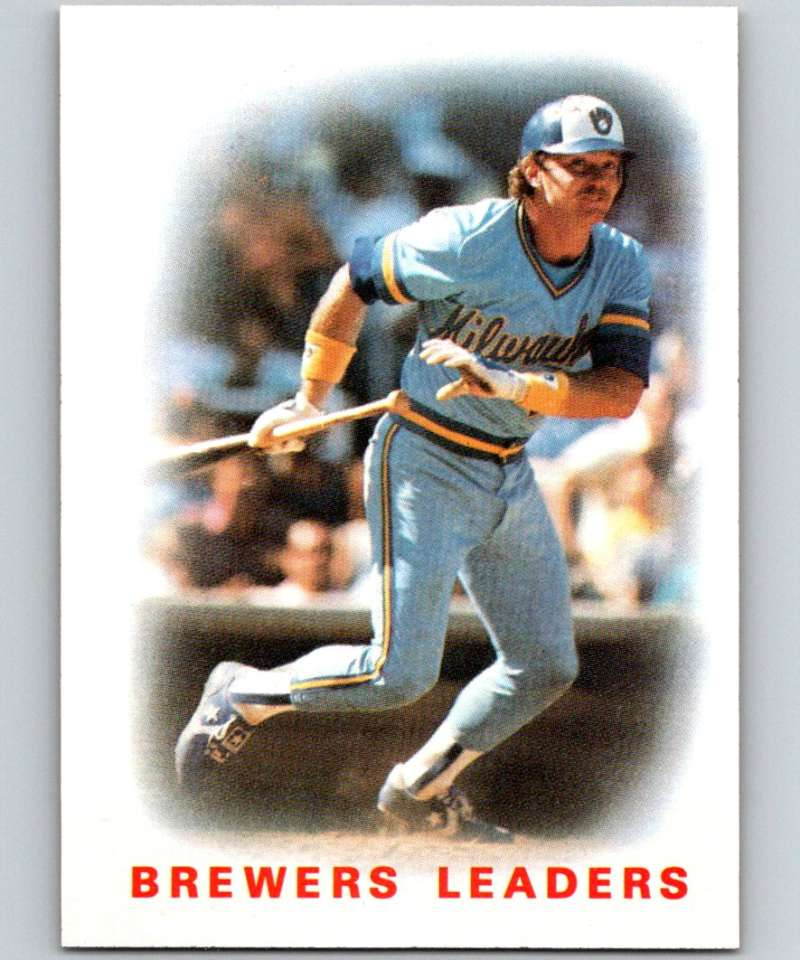 1986 Topps #426 Charlie Moore Brewers Brewers Leaders MLB Baseball