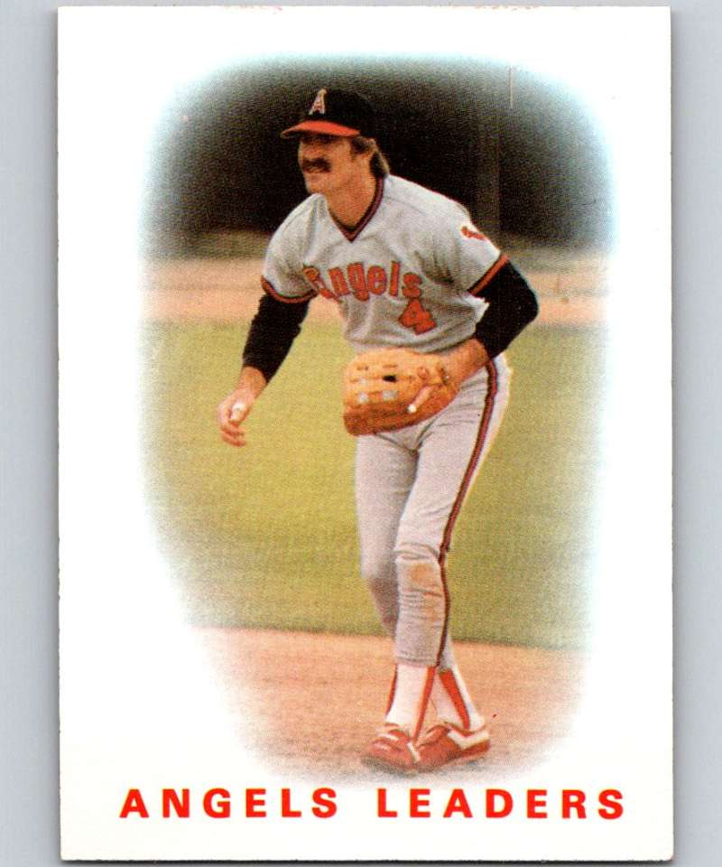 1986 Topps #486 Bobby Grich Angels Angels Leaders MLB Baseball