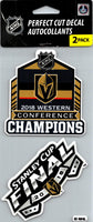 Vegas Golden Knights Champs Perfect Cut Decal/Sticker Set of 2 NHL 4x4