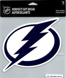 "Tampa Bay Lightning Perfect Cut 8""x8"" Large Licensed Decal Sticker"