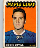 1965-66 Topps #85 Eddie Joyal RC Rookie Hockey NHL Vintage 03060