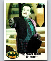 1989 Topps Batman #4 The Clown Prince of Crime
