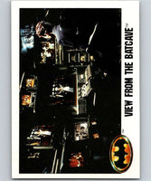 1989 Topps Batman #25 View from the Batcave