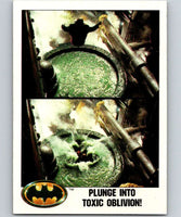 1989 Topps Batman #35 Plunge into Toxic Oblivion!