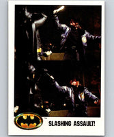 1989 Topps Batman #88 Slashing Assault!